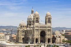Cathedral de la Major in Marseille Royalty Free Stock Image