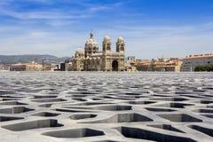 Cathedral de la Major in Marseille Royalty Free Stock Images