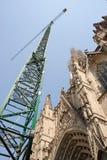 Cathedral De La Santa Creu I - Barcelona - Spain Stock Photo