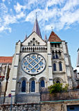 Cathedral de Lausanne 2 Stock Photo