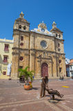 Cathedral De San Pedro Claver in Cartagena Colombia Royalty Free Stock Photo