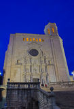 Cathedral de Santa Maria, Girona, Spain Stock Photography