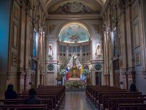 Cathedral de Santiago Stock Image