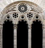 Cathedral decorative window Stock Images