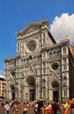cathedral del fiore佛罗伦萨玛丽亚・圣诞老人 意大利 免版税库存照片