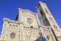 cathedral del fiore佛罗伦萨玛丽亚・圣诞老人 免版税图库摄影