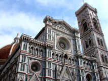 cathedral del fiore玛丽亚st 库存图片