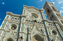 cathedral del fiore Φλωρεντία Ιταλία Μαρία santa στοκ εικόνες