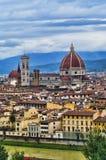 cathedral del fiore佛罗伦萨意大利玛丽亚・圣诞&#32769 免版税库存照片
