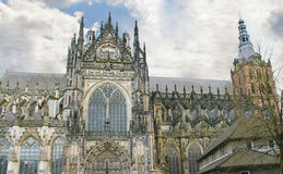 Cathedral in Den Bosch. Stock Image