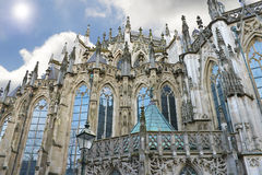 Cathedral in Den Bosch. Royalty Free Stock Photography
