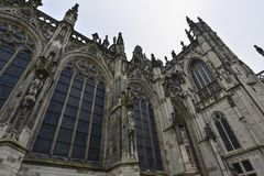 Cathedral in den bosch Royalty Free Stock Images
