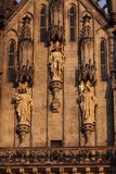 Cathedral detail in Olomouc Royalty Free Stock Photo