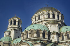CATHEDRAL DETAILS - DOMES Stock Photography