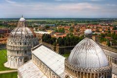 cathedral di duomo比萨 免版税图库摄影