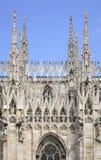 cathedral di duomo米兰米兰 伦巴第 意大利 免版税图库摄影
