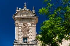 Cathedral di San Nicola en Sassari Imagen de archivo libre de regalías