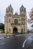 The cathedral in Dijon Stock Photography