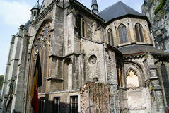 Cathedral in Dinant Stock Photo