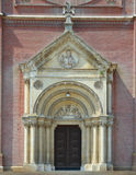Cathedral in DJakovo stock photos