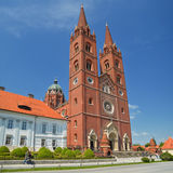 Cathedral in DJakovo Royalty Free Stock Images