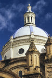 Cathedral Dome, Cuenca, Ecuador Royalty Free Stock Photo