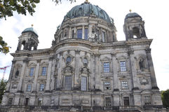 Cathedral Dome facade from Berlin in Germany Stock Photo
