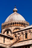 Cathedral dome, Pisa. Cathedral dome view at Pisa, Italy Stock Images