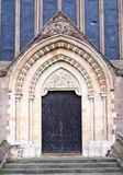 Cathedral Door. Royalty Free Stock Photos