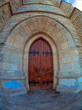 Cathedral door Stock Image