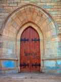 Cathedral door Stock Images