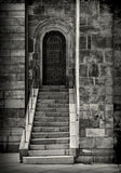 Cathedral door and steps Stock Photography