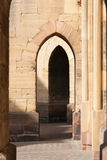 Cathedral doors royalty free stock photo