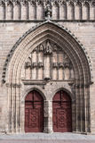 Cathedral Doors Royalty Free Stock Image