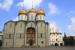 The Cathedral of the Dormition Stock Photo