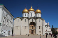 The Cathedral of the Dormition, Kremlin, Moscow Royalty Free Stock Images