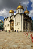 The Cathedral of the Dormition in the Moscow Kremlin Stock Photos