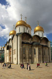 The Cathedral of the Dormition in the Moscow Kremlin Royalty Free Stock Photography