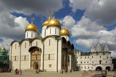 The Cathedral of the Dormition in the Moscow Kremlin Stock Photo