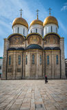 The Cathedral of the Dormition in Moscow Kremlin, Russia Stock Photography