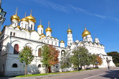 Cathedral of the Dormition in Moscow Kremlin Royalty Free Stock Images
