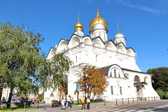 Cathedral of the Dormition in Moscow Kremlin Stock Photos