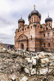 Cathedral of the Dormition of the Mother of God. Royalty Free Stock Images