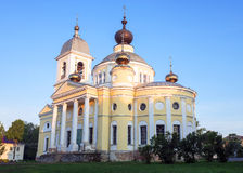 Cathedral of the Dormition in Myshkin, Russia. Stock Photos