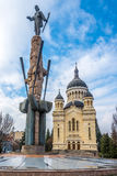 Cathedral of Dormition Theotokos in Cluj - Napoca Stock Photo