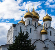 Cathedral of the Dormition, in Yaroslavl, russia Stock Photos