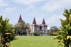 Cathedral in downtown of Nuku'Alofa Stock Photos