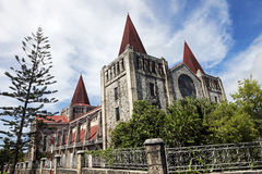 Cathedral in downtown of Nuku'Alofa Royalty Free Stock Photography