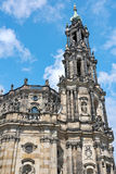 Cathedral in Dresden on a blue sky background. Germany. Stock Image
