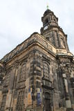 Cathedral in Dresden Stock Image